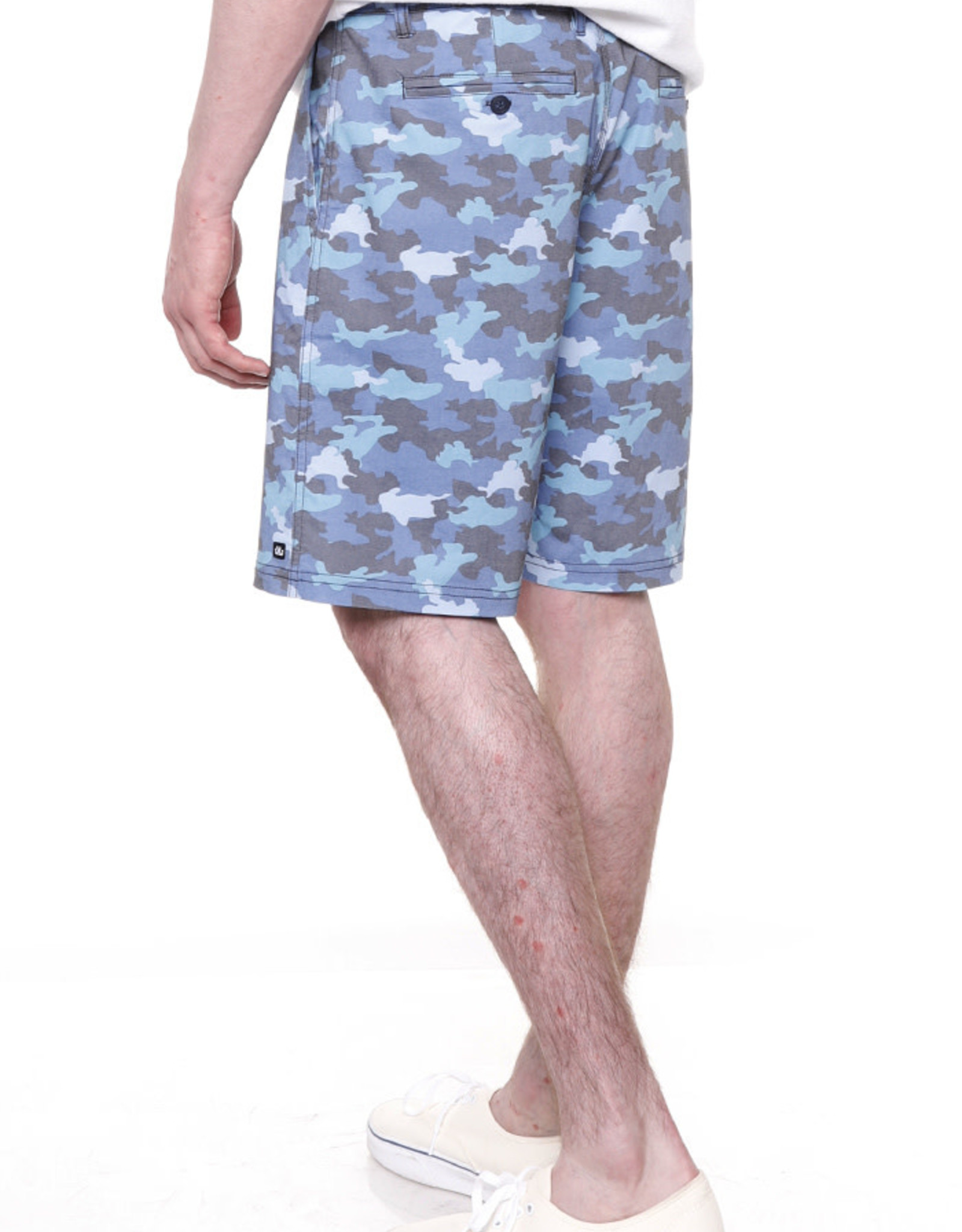Micros Blue Camo Hybrid Short