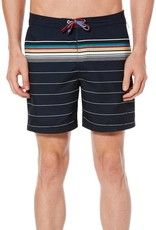 Penguin Engineered Bold Stripe Fixed Volley Trunks