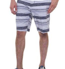 "Micros Navy Stripe ""on Time"" Shorts"