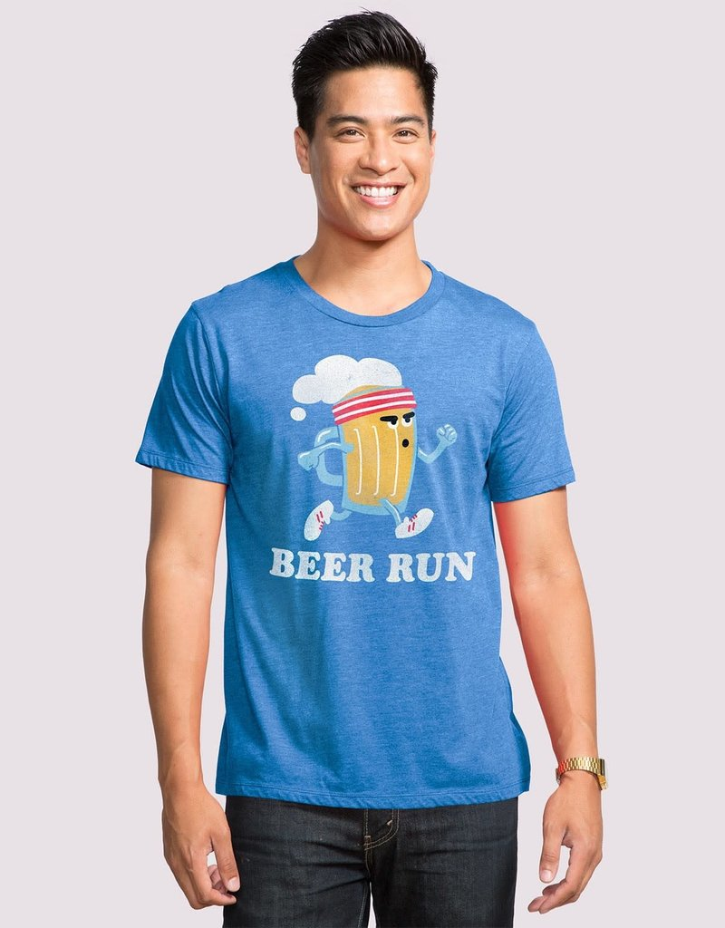 "Headline Blue ""Beer Run"" Tee"