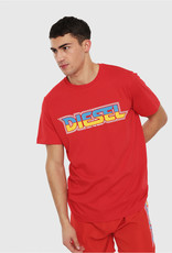 Diesel Red BMOWT-Just-B T-Shirt