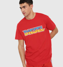 Diesel Red BMOWT-Just-B T-Shirt