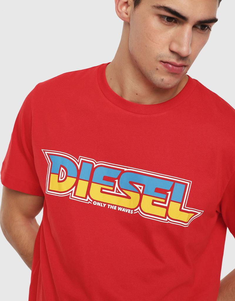 Diesel Diesel Red BMOWT-Just-B T-Shirt