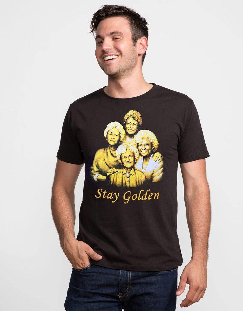 """Headline Black """"Stay Golden"""" Tee"""