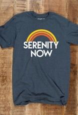 """Headline Navy """"Serenity Now"""" Tee"""