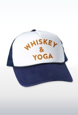 "Headline ""Whiskey & Yoga"" Cap"