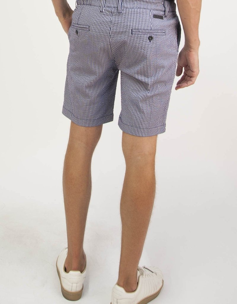 Civil Society Jagger Woven Mens Stripe Seersucker Shorts