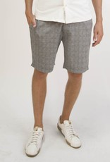 Civil Society Rusty Plaid Tailored Knit Short