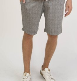 Civil Society Rusty Plaid Tailored Knit Short