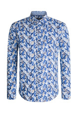 Bugatchi Shaped Fit Iceberg Shirt