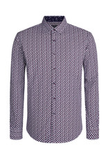 Bugatchi Bead Print Shaped Fit Shirt