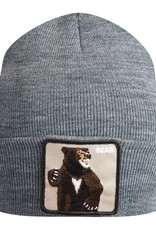 Goorin Bros Grey Lover Bear Beanie