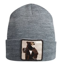 Goorin Bros Grey Lover Bear Beanie