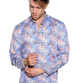 Mizumi Multi Color Squiggles Long Sleeve Shirt