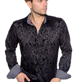 Mizumi Black on Black Long Sleeve Shirt