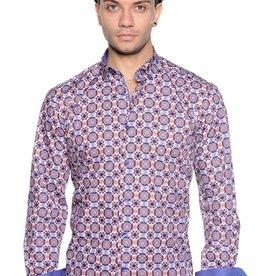 Mizumi Multi Color Print Long Sleeve Shirt