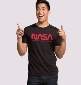 "Headline Black ""NASA"" Tee"