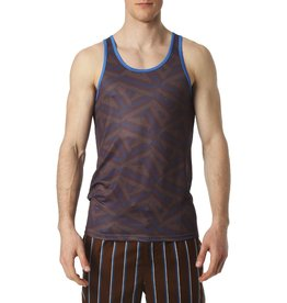parke & ronen Dragon Print Tank Top