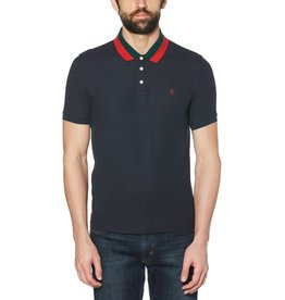 Penguin Penguin Striped Collar Polo (2 colors)