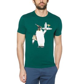 Penguin Waiter Pete Green Tee
