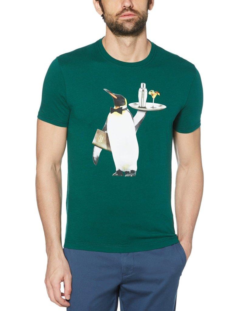 Penguin Green Penguin Server Tee