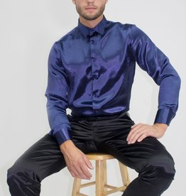 Barabas Barabas Refined Solid Foil Shirt (2 colors)