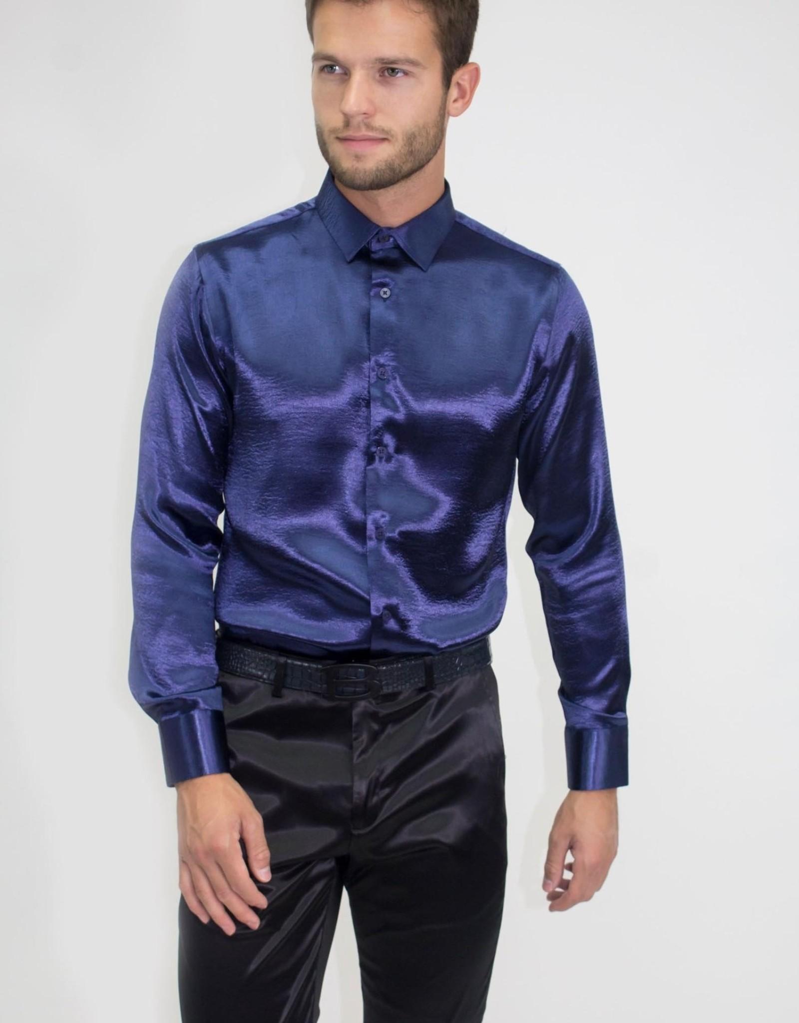 Barabas Barabas Solid Foil LS Shirt