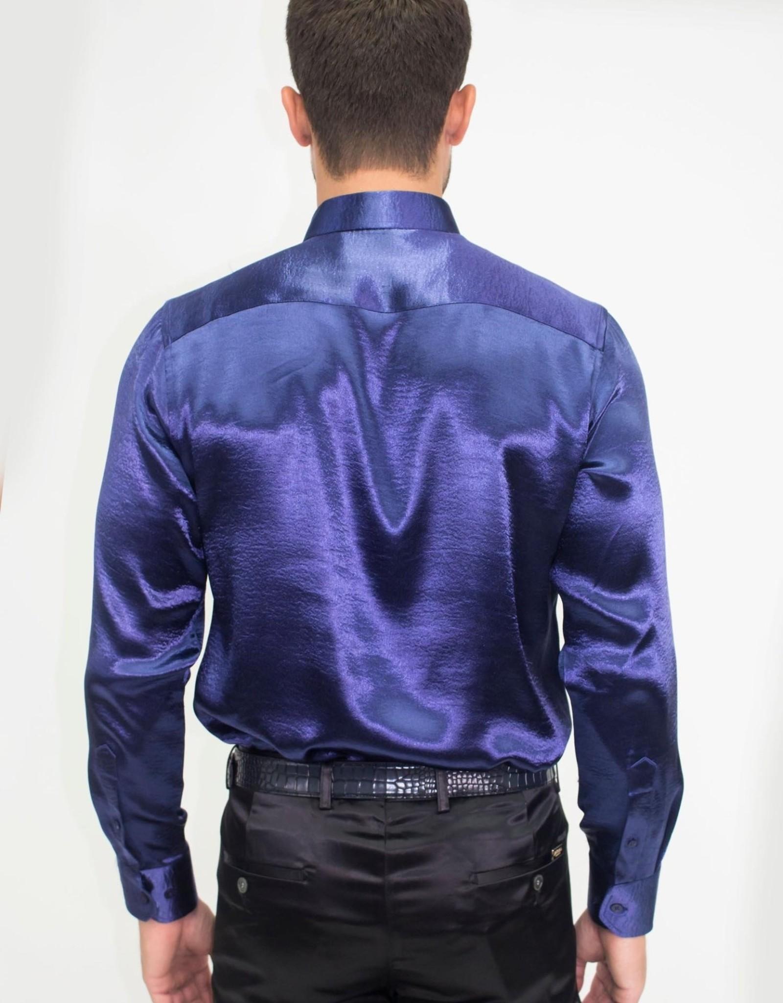 Barabas Solid Foil LS Shirt