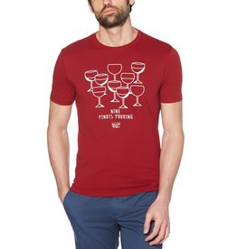 Penguin Red 9 Pinots Pouring Tee