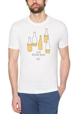 Penguin White 5 Golden Beers Tee