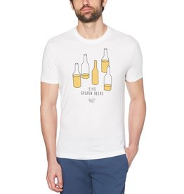 Penguin Penguin White 5 Golden Beers Tee