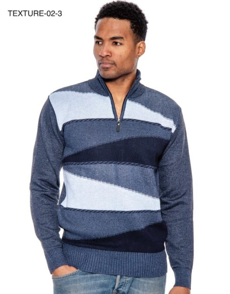 Leo Gavino Half Zip Pullover Sweater