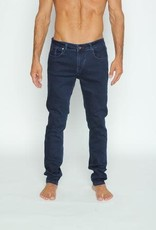 Eight X Blue/Blk Denim Slim Fit Stretch Jean
