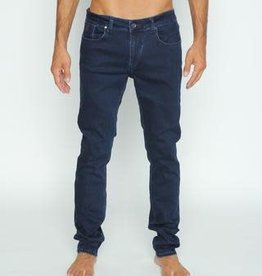 Eight X Blue/Blk Denim Slim Fit Stretch Jean