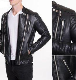 Urban Fitz Urban Fitz Black Moto Jacket