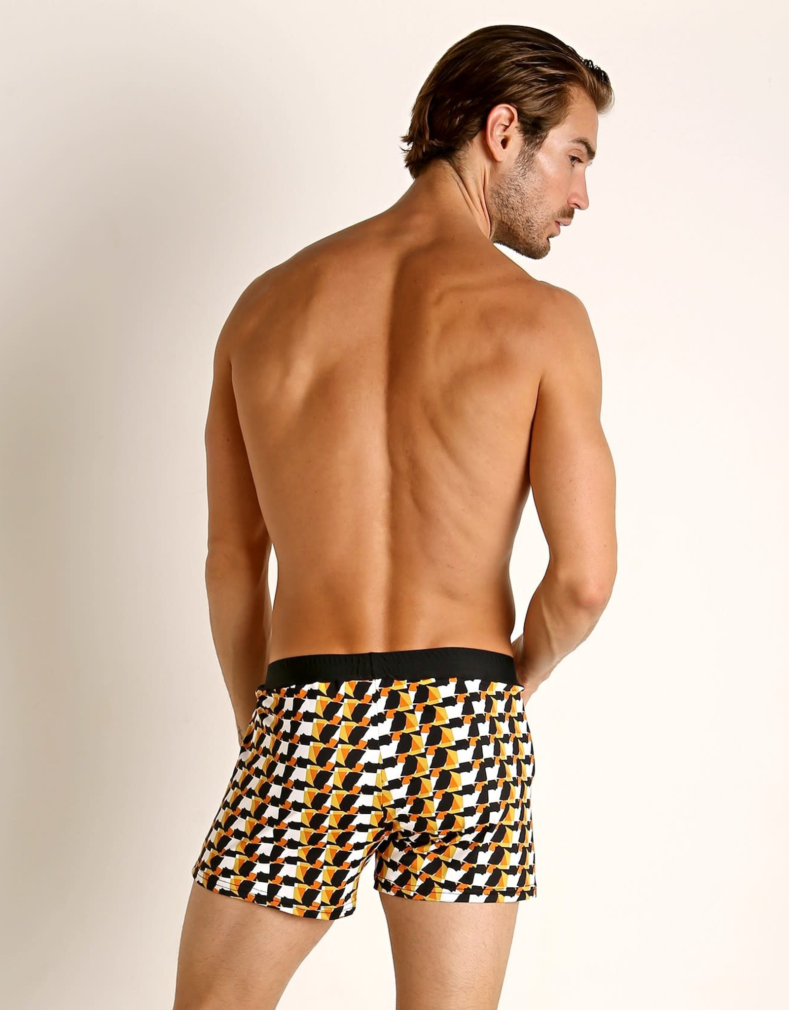 Sauvage Mid-Century Swim Short