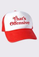 Headline That's Offensive Cap