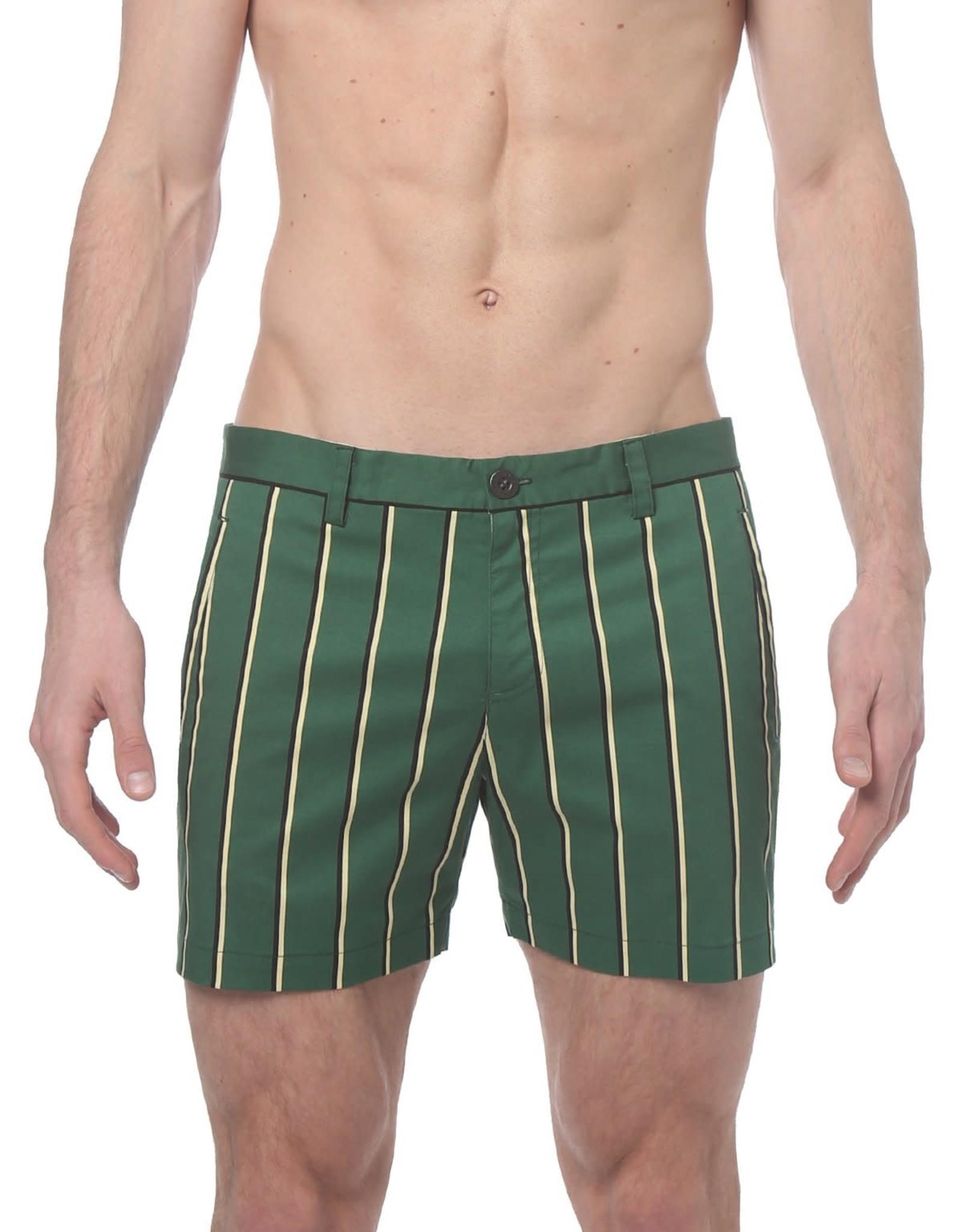 parke & ronen Preppy Stripe Short