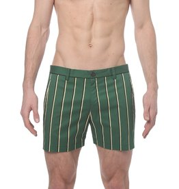 parke & ronen Preppy Stripe Holler Short