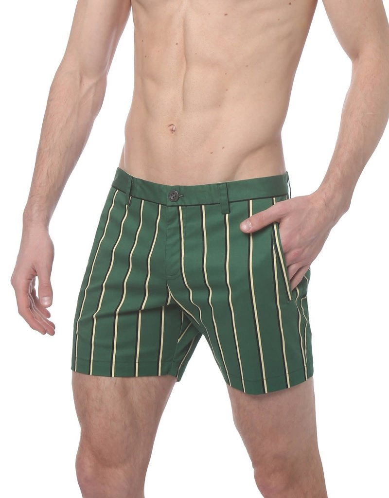 parke & ronen Preppy Stripe Short