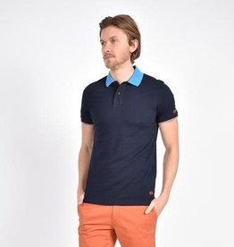 Eight X Polo Shirt with Double Sided Collar