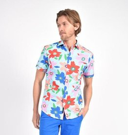 Eight X Coral Pop Art Print Shirt