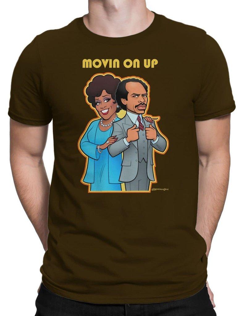 Huntees Movin on Up T shirt