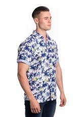 Urban Fitz Blue Palm Trees Shirt