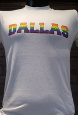 Pride Rainbow Block Dallas Crew Tee