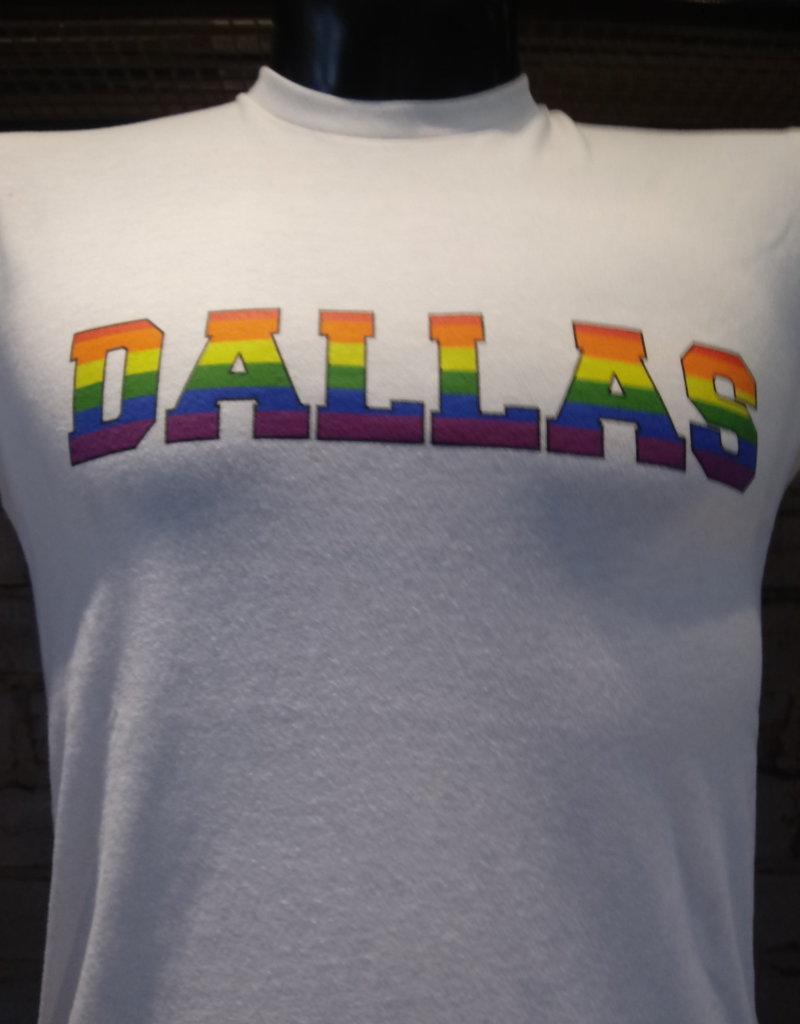 Pride Rainbow Block Dallas Crew Tee