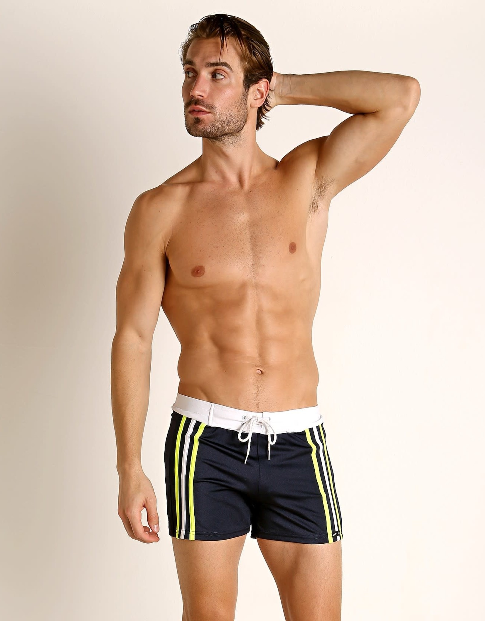 Sauvage Retro Side Stripe Trunk