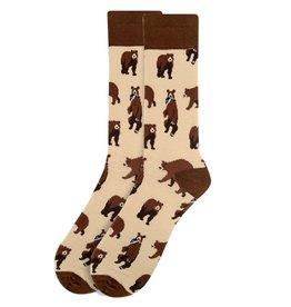 Selini Brown Bear Socks