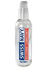 Swiss Navy Silicone Lubricant 4oz