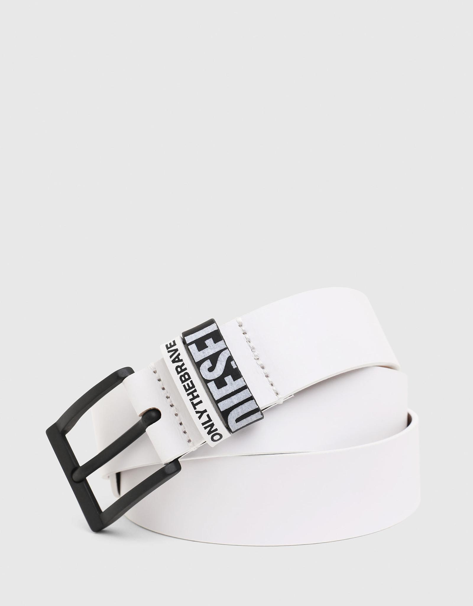 Diesel White B-ELEN Belt